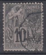 #108# COLONIES GENERALES N° 50 Oblitéré CORR D'ARMEES Saigon (Cochinchine)