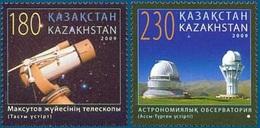 2009 - KAZAKHSTAN - ASTRONOMIA / ASTRONOMY - LOTTO MNH - Kazakistan