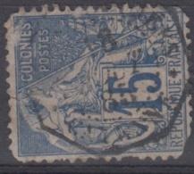 #108# COLONIES GENERALES N° 51 Oblitéré CORR D´ARMEES Cayenne (Guyane)