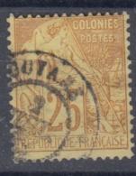 #108# COLONIES GENERALES N° 53 Oblitéré Cayenne (Guyane)