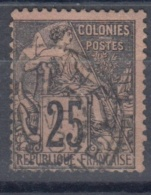 #108# COLONIES GENERALES N° 54 Oblitéré Cayenne (Guyane)