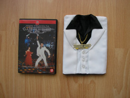 DVD AVEC ETUI EN FORME DE VESTE EN TISSU + CHAINE * LA FIEVRE DU SAMEDI SOIR * TRAVOLTA - Comedias Musicales