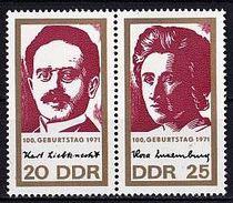 DDR Mi. Nr. 1650+1651 ** Zusammendruck Paar (A-2-56)