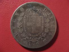 Italie - 2 Lire 1863 N BN 0359 - 1861-1946 : Kingdom