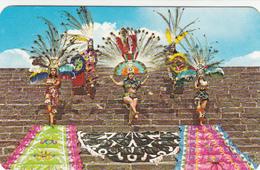 Mexico Mexique - Tenochtitlan - Danzantes Aztecas - Native Aztec Dancers - 2 Scans - Mexico