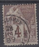 #108# COLONIES GENERALES N° 48 Oblitéré Capesterre (Guadeloupe)