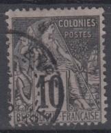 #108# COLONIES GENERALES N° 50 Oblitéré Basse-Terre (Guadeloupe)