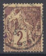 #108# COLONIES GENERALES N° 47 Oblitéré Saint-Denis (Réunion)
