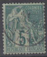 #108# COLONIES GENERALES N° 49 Oblitéré St-Denis (Réunion)