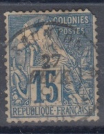#108# COLONIES GENERALES N° 51 Oblitéré St-Louis (Réunion)    Bureau Rare