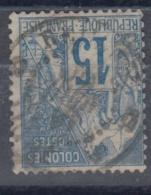 #108# COLONIES GENERALES N° 51 Oblitéré Cachet Maritime Ligne V (Réunion)