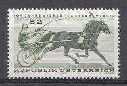 AUTRICHE 1973  Mi.nr.: 1426  100.Jahre Wiener Trabrennverein  Neuf Sans Charniere-MNH-Postfris - 1945-.... 2de Republiek