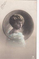 CPA Portrait FILLETTE   (Greta Reinwald)   Détails Repeints - Portraits