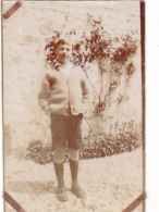 25934 2 Photos CHALONS Marne Pierre Lips  Tante Belle Juillet 1928