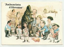 ALBERGO RIST. AMBASCIATA D'ABRUZZO ROMA ILL.TA A.MILOSA  NV FG - Hotels & Restaurants