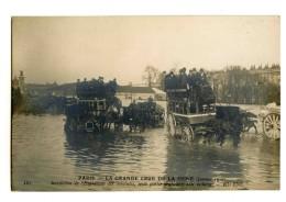 18528   -   3 Cartes  -  Paris  -  La Grande Crue De La Seine En Janvier 1910 - Catastrophes
