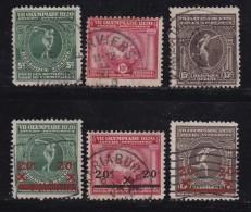 BELGIUM, 1920, Used Stamp(s), Olympic Games, MI 159-164,  #10285, Complete - 1919-1920 Trench Helmet