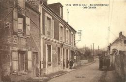 OSNY  - Rue Aristide- Brian -  Café CORNIER    -- Véhicule De Livraison Du CAFE NEGRITA - Osny