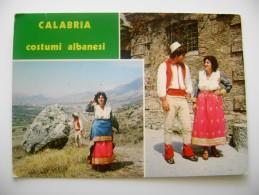 Calabria   - Costumi Albanesi  ALBANIA ALBANIEN  COSTUMI COSTUMES FOLKLORE COSTUME - Costumi