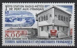 """TAAF: Y Et T PA No 147 Neuf **. """"1ère Station Radio-météo De Port-aux-Français"""". - Posta Aerea"""