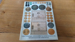 60: Cabinet Albuquerque Catalogue De Numismatique  Vente Sur Offre N° 36 Monnaies De Collection 23 Juillet 1992 - Français