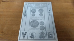 60: Cabinet Albuquerque Catalogue De Numismatique  Vente Sur Offre N° 58  Monnaies De Collection 3 Decembre 1995 - Français