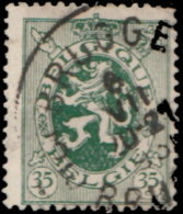 Belgique 1929. ~ YT 283 - 35 C. Armoiries