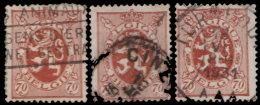 Belgique 1929. ~ YT 287 Par 3 - 70 C. Armoiries