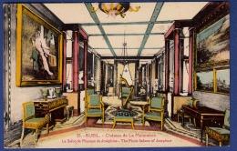 92 LA MALMAISON Château, Le Salon De Musique De Joséphine - Colorisée - Chateau De La Malmaison