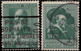 Belgique 1930. ~ YT 299 à 300 - Exposition D'Anvers Et Liège