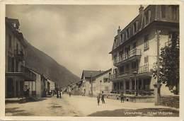 Ref G425- Suisse - Vernayaz - Hotel Victoria - Carte Bon Etat  - - Switzerland