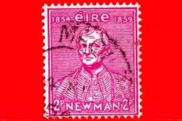 IRLANDA - Usato - 1954 - 100 Anni Dell'Università Cattolica - Cardinale Newman, Primo Rettore - 2 - 1949-... Repubblica D'Irlanda