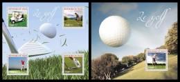 NIGER 2014 - Golf - YT 2478-81 + BF327; CV = 32 €