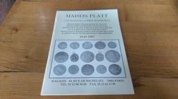 60: Maison Platt Catalogue A Prix Marques Monnaies - Français