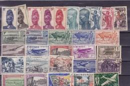 CAMEROUN : Y&T : Lot De 30 Timbres Oblitérés - Kamerun (1915-1959)