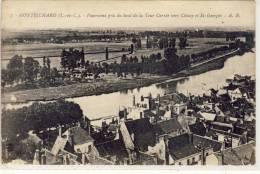 MONTRICHARD - Panorama Pris Du Baut De La Tour Carrèe Vers Chisay Et St-Georges - Montrichard