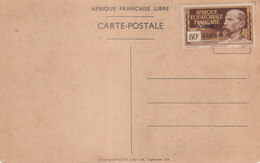 AFRIQUE EQUATORIALE FRANCAISE - N° 140A - 50 C. Brun Et Jaune (sur Carte) - Autres