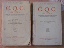1920 Jean De Pierrefeu GQG Secteur 1 2 Tomes - Libros, Revistas, Cómics