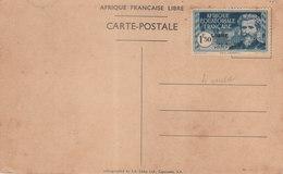 AFRIQUE EQUATORIALE FRANCAISE - N° 140D - 1 F. 50. Bleu Et Bleu Clair (sur Carte) - Autres