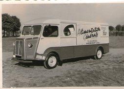 (FC)  Photo Originale Camionette Citroen Audincourt V Gamba  Alimentation Generale (10cm X 7cm)    (bon Etat) - Francia