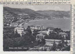 Loano Savona  Panorama Del Golfo 1955 - Savona