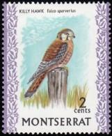 MONTSERRAT - Scott #232 Falco Sparverius (*) / Mint NH Stamp - Montserrat