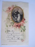 Image Pieuse Holy Card Santini Devotie Prentje Maria Marie Mère De Dieu Celluloid éd. Boumard Et Fils Form 8.5 X 13.5 Cm - Devotion Images