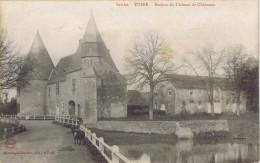 72 - Tuffé (Sarthe) - Donjon Du Château De Chéronne - Tuffe