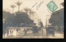 Egypte -- Alexandrie -- Rue Cherif Pacha - Alexandrie