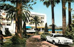 Ref G393- Maroc -mohammedia -l Hotel Miramar -planque Architecte -voitures -automobile   -carte Bon Etat  - - Morocco