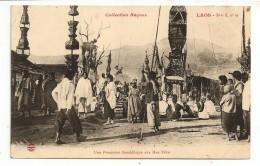 LAOS - PROCESSION Aux HUA PAHN - Laos