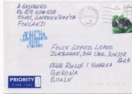 3081 Carta Aérea   Finlandia Finland Helsinki 2014