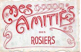 """Les Rosiers-sur-Loire.. Belle Fantaisie """"Mes Amitiés Des Rosiers"""" - Autres Communes"""