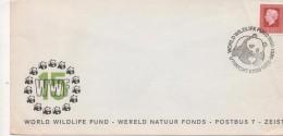 3081 Carta  Utrecht 1976 Nederland Holanda,  Oso Panda WWF - Bären